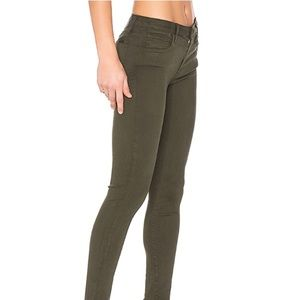 Joe's Jeans { Olive/Military Green Skinny Jean }